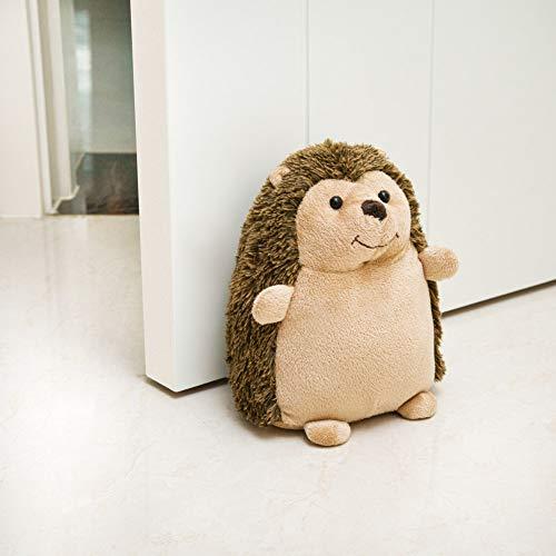 Decorpro Cute Decorative Door Stopper for Home and Office Door Stopper, Hedgehog Weighted Interior Fabric Design Door Stopper