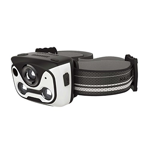 Nathan Halo Fire Runner's Headlamp. LED / Rechargeable / Wave Hand to Switch Mode (Touch Free) / NO BOUNCE