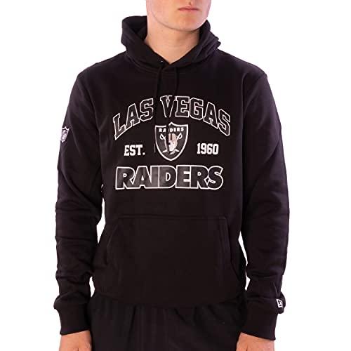 New Era Hoodie - NFL MBA MLB - Kapuzenpullover - Football Basketball Baseball - Limited Edition (Las Vegas Raiders Black, XL, x_l)