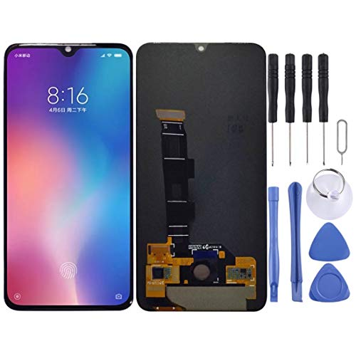 RANJINLCDSCREEN Accessori for xiaomi Schermo LCD e digitalizzatore Assemblaggio Completo for Xiaomi Mi 9 SE (Nero) (Colore : Black, Dimensione : One Size)