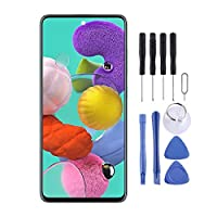 携帯電話修理部品 Galaxy A51用のオリジナルのSuper AMOLEDマテリアルLCDスクリーンとデジタイザーのフルアセンブリ