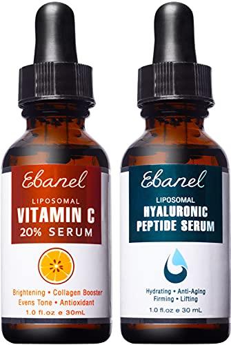 Ebanel Vitamin C Serum Hyaluronic Acid Serum