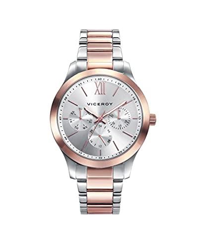 Viceroy 401070-03 - Reloj Analógico para Mujer, Acero...