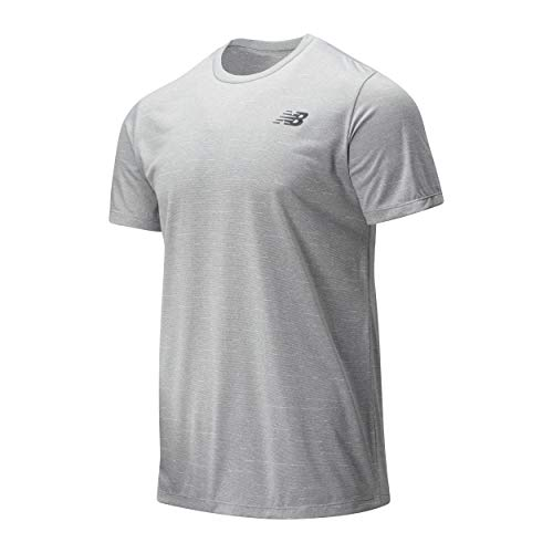 New Balance - Camiseta deportiva para hombre