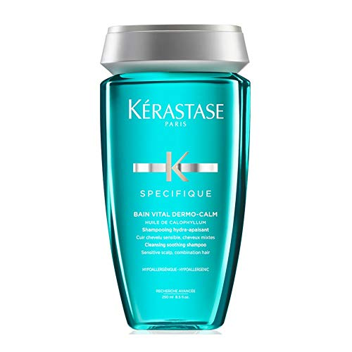 Kerastase SPECIFIQUE Bain Vital Dermo-Calm - Shampoo Ipoallergenico per cuoio capelluto asciutto o sensibile, 1 x 250 ml