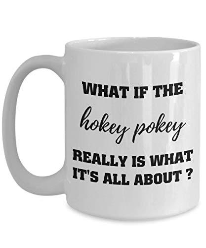 N\A was ist, wenn der Hockey-Pockey wirklich das ist, worum es geht - Lustige Kaffeetasse, Halloween-Tasse, Happy Halloween, Idee Freunde, Familie