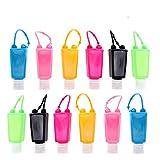 Botellas de viaje de plástico, 12 unidades, 30 ml, a prueba de fugas,...