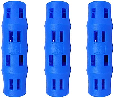 Snappy Grip Ergonomic Replacement Bucket Handles (3 Pack) | Blue
