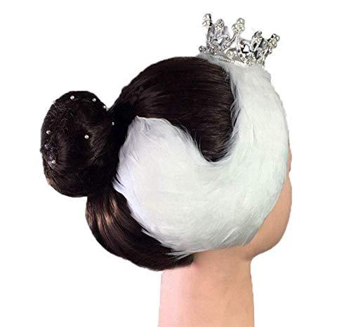 Haarschmuck für Erwachsene, Silberschmuck, Krone, Haarnadel, Kopfschmuck, Haarspange, Damen, Tänzerin, elegant, Ballett-Stirnband