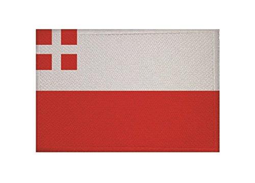 U24 applicatie Utrecht vlag opstrijkapplicatie 9 x 6 cm