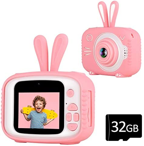 YOUSAMS Kids Selfie Camera Gifts Toys for Girls Boys Age 3 4 5 6 7 8 Year Old Kids Camera Digital product image