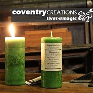 Affirmations - Prosperity Candle by Coventry Creations