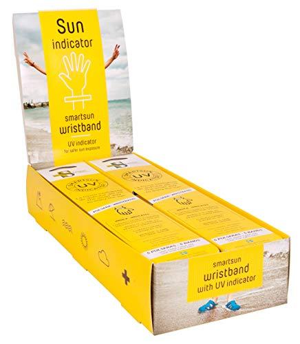 Sanitec Solutions Lot de 10 blisters de 5 bracelets solaires