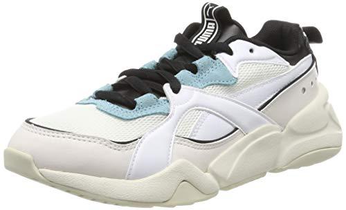 Puma Damen Nova 2 WN's Sneaker, Weiß (Puma White-Pastel Parchment), 39 EU