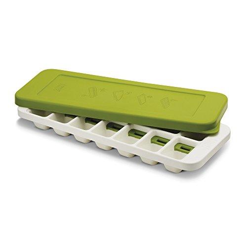 Joseph Joseph Quicksnap Plus - Eiswürfelbehälter mit Deckel - weiß/grün
