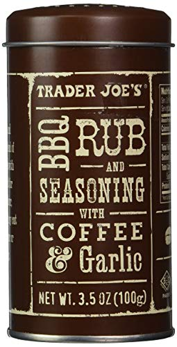 Trader Joe's BBQ Rub and Seasoning with Coffee & Garlic, 3 Pack