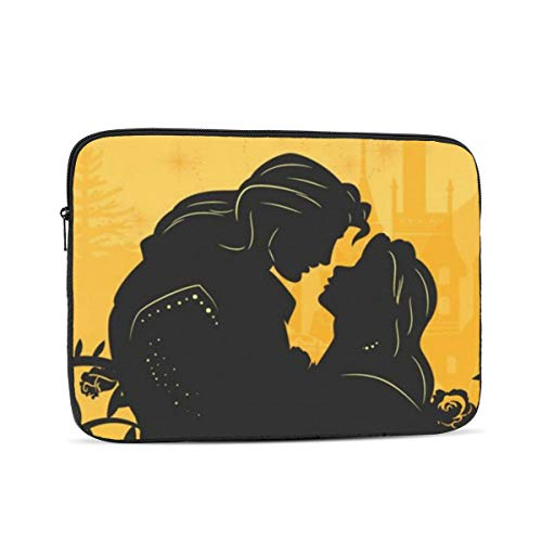 Laptop Sleeve Case- Multi Size Beauty and The Beast Notebook Computer Protective Bag Tablet Briefcase Carrying Bag,12 Inch