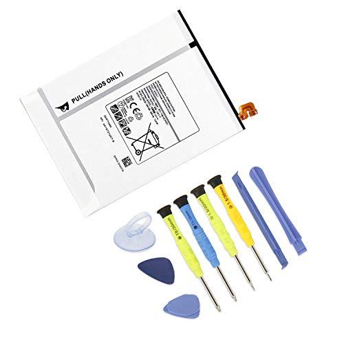 ANTIEE EB-BT710ABE EB-BT710ABA EB-BT710ABC Tablet Batteria per Samsung Galaxy Tab S2 8.0' Wifi LTE-A T710 T715 T719 3G/LTE T719N SM-T710 SM-T713 SM-T715 SM-T715C SM-T719 4000mAh with tool