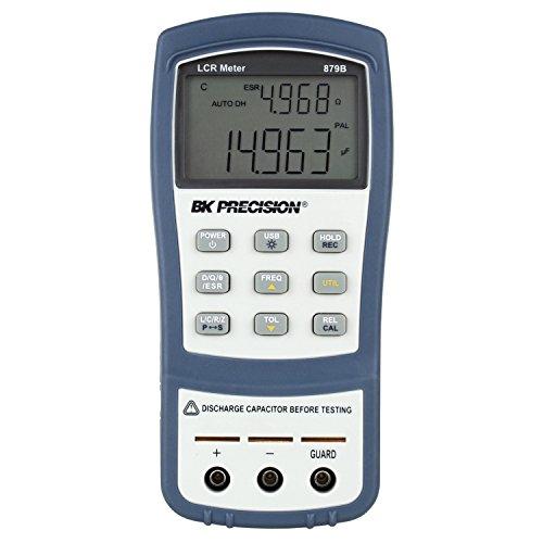 B&K Precision 879B Dual Display Handheld Deluxe Universal LCR Meter with Backlit Display