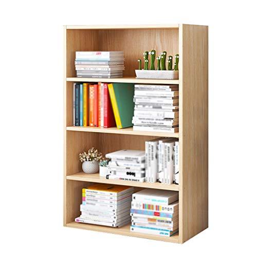 Rack Shelf Bookshelf Magazine Stratification Storage Floorstanding Office Home Living Room Bedroom MUMUJIN (Color : A, Size : 60X24X106CM)