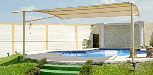 BOLATA Malla de sombreo ocultación Lona Sombra Color Beige 1, 5x10m Metros 120 Gramos: Amazon.es: Jardín