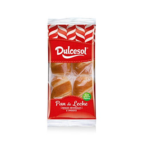 DULCESOL 🍞🐄 Pan de leche - 8 unidades 🍞🐄