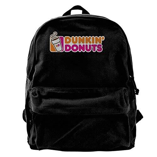 yusanbaihuodian Dunkin Canvas Rucksack, Reise Notebook Tasche