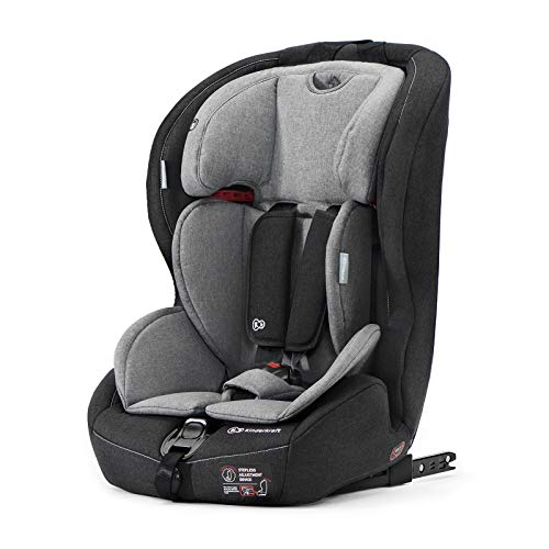 Kinderkraft Silla de Coche Isofix SAFETY FIX, Grupo 1/2/3, 9
