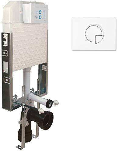 Cisterna de pared empotrada para inodoro, elemento de montaje ecológico, cisterna empotrada, cisterna de pared seca