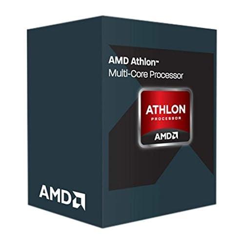 AMD Athlon X4845Quad Core - Procesador (3,8 GHz, 2 MB de caché, FM2, Incluye Conector), Color Plata