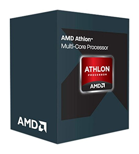 AMD Athlon X4 845 Quad Core - Procesador (3,8 GHz, 2 MB de caché, FM2, Incluye Conector), Color Plata