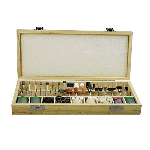 Best Review Of Multitool Sanding Kits 228pcs Grinding Polishing Shank Craft Bits Rotary Tool Accesso...