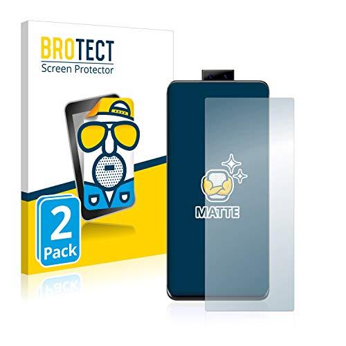 BROTECT 2X Entspiegelungs-Schutzfolie kompatibel mit Vivo Nex 3 Bildschirmschutz-Folie Matt, Anti-Reflex, Anti-Fingerprint