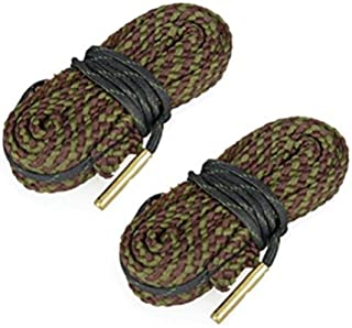 Westlake Market Bore Snake - 2 Pack 45 Caliber Quality Gun/Pistol Bore Cleaning Snake - Simplifies Cleaning - Sold in America, Ships from America