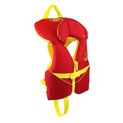 New Stohlquist Waterware Infant PFD 8-30 lbs, Red/Yellow