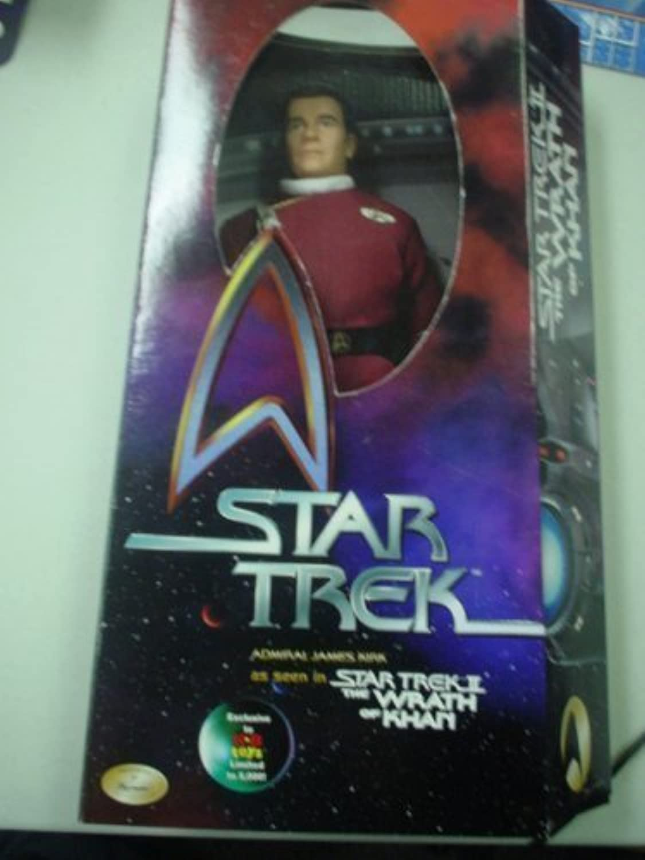 Star Trek 12 Wrath of Khan Admiral James Kirk by Playmates