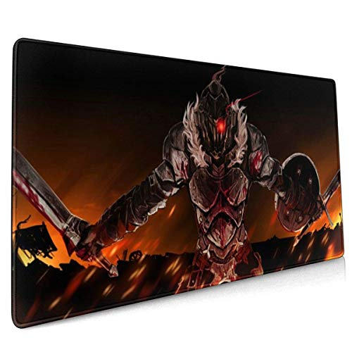 Mouse Pad Goblin Slayer Large Mouse Pad, Gaming Mouse Pad, Non-Slip Mouse Pad, Home Mouse Pad, Office Mouse Pad 40 X 90 cm (15.8x35.5 Inches)