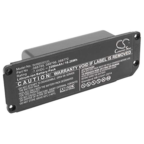 vhbw Batería Recargable Compatible con Bose Soundlink Mini 2 Altavoces, Cajas acústicas,...