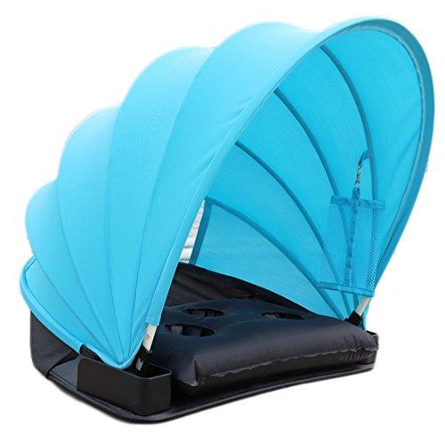 Starter Outdoor Beach personale protezione solare ombrello mini personali Face paralume in PVC Cold...