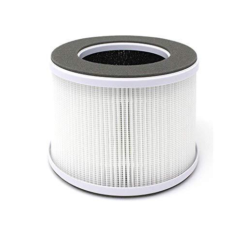 ROGOGLIOSO Luftreiniger Ersatzfilter, Hocheffizienter Echter Hepa und Aktivkohlefilter Set GL-2109