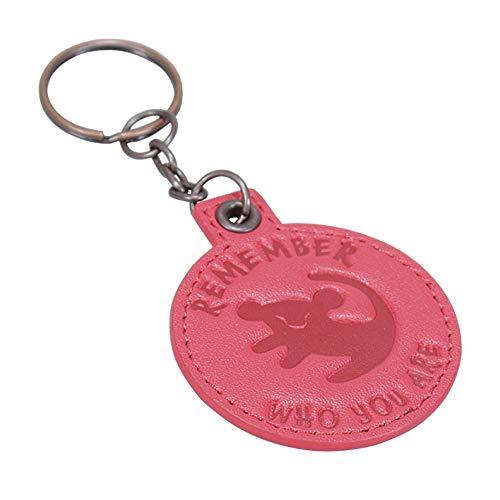 Echte Disney der König der Löwen PU Schlüsselanhänger Schlüsselanhänger erinnern, wer Sie sind