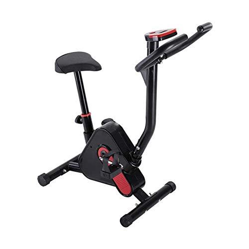 Hometrainer Fietstrainer Cardio Fitness Workout Machine, met snelheidsweerstand, Afvallen Fitnessapparatuur Home Sport Trainer Fietstas Verstelbare stoel