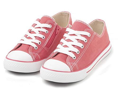 TEX - Zapatillas De Lona para Niña, Coral, 33 EU