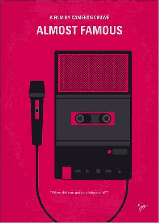 venta con alto descuento Lienzo 60 x x x 80 cm  No781 My Almost Famous Minimal Movie Poster de chungkong - Cuadro Terminado, Cuadro sobre Bastidor, lámina terminada sobre Lienzo auténtico, impresión en Lienzo  marcas en línea venta barata