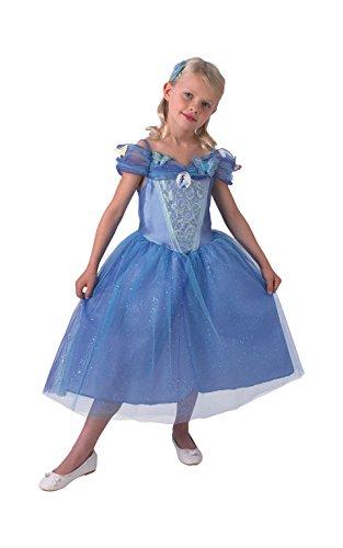 Rubie's-déguisement officiel - Disney- Déguisement Pour Enfant Luxe Cendrillon Le Film -Taille L- I-610284L