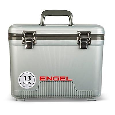 Engel Engel Cooler/Dry Box 13 Qt - Silver, Model:UC13S