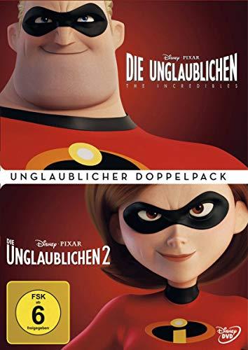 Die Unglaublichen 1+2 - Unglaublicher Doppelpack [3 DVDs]