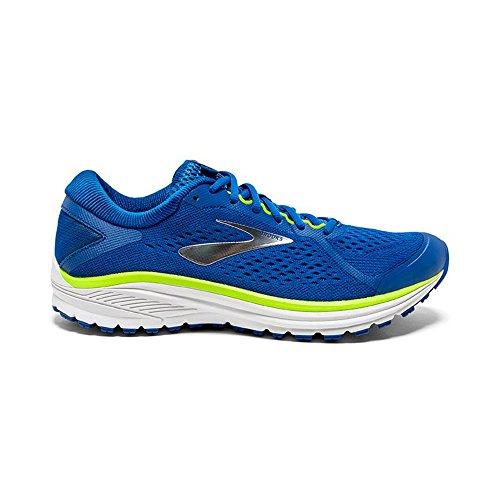 Brooks Aduro 6, Scarpe da Running Uomo, Multicolore (Blue/Lime/White 404), 40.5 EU