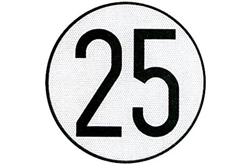 Cofan 199002 Placa de Velocidad Homologada 25