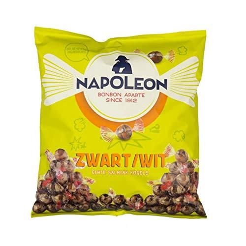 Napoleon Harte Bonbons gefüllt mit salzigem Lakritz 1 Kg I Lakritzbonbons aus den Niederlanden